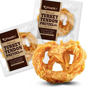 turkey tendon pretzel